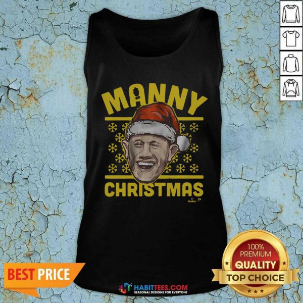 Awesome Manny Christmas San Diego Tank Top
