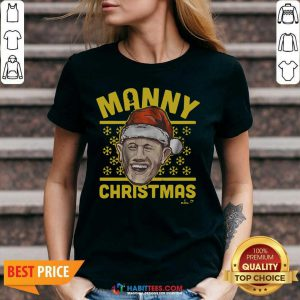 Awesome Manny Christmas San Diego V-neck