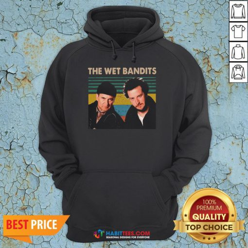 Awesome The Wet Bandits vintage Christmas Hoodie