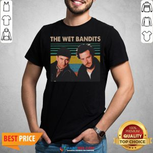Awesome The Wet Bandits vintage Christmas Shirt