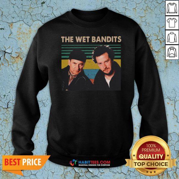 Awesome The Wet Bandits vintage Christmas Sweatshirt