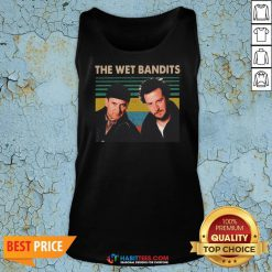 Awesome The Wet Bandits vintage Christmas Tank Top
