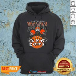 Funny Cleveland Browns End Zone Hoodie