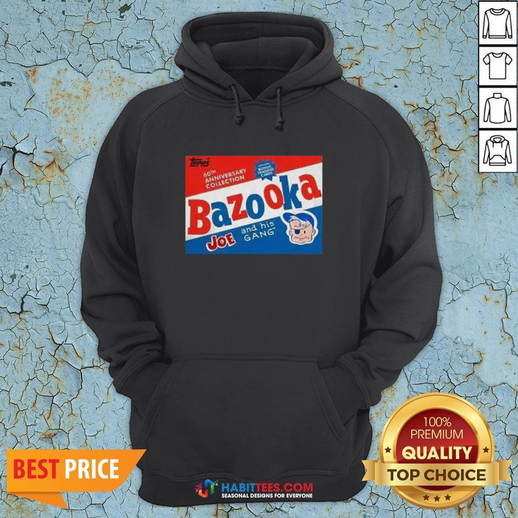 Funny Topps Bazooka Bubble Gum Hoodie - Design By Habittees.com