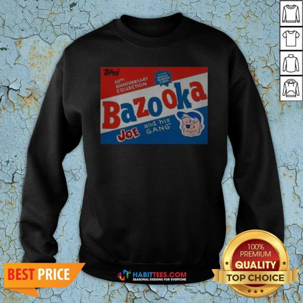 Funny Topps Bazooka Bubble Gum Sweatshirt - Design By Habittees.com
