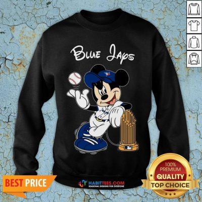 Good Toronto Blue Jays Mickey Taking The Trophy MLB 2018 Sweatshirt - Design By Habittees.com