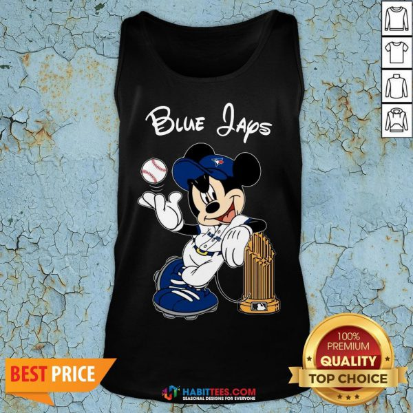 Good Toronto Blue Jays Mickey Taking The Trophy MLB 2018 Tank Top - Design By Habittees.com