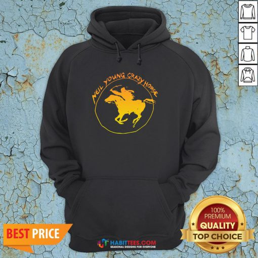 Great Neil Young Crazy Horse Hoodie - Design By Habittees.com