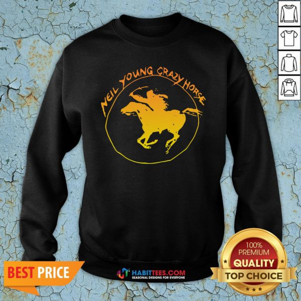 Great Neil Young Crazy Horse Sweatshirt - Design By Habittees.com