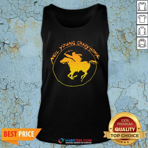 Great Neil Young Crazy Horse Tank Top - Design By Habittees.com