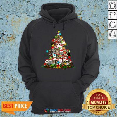 Hot Grateful Owl Quaran Tree Christmas Hoodie - Design By Habittees.com