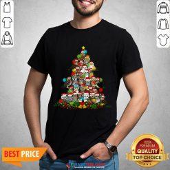 Hot Grateful Owl Quaran Tree Christmas Shirt - Design By Habittees.com