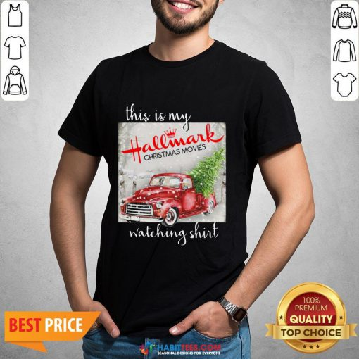 Hot This Is My Hallmark Christmas Movies Watching Sweat Shirt - Design By Habittees.com