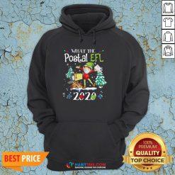 Hot What The Postal Worker Christmas Elf 2020 Hoodie - Design By Habittees.com