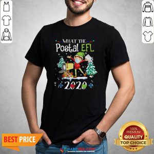 Hot What The Postal Worker Christmas Elf 2020 Shirt - Design By Habittees.com