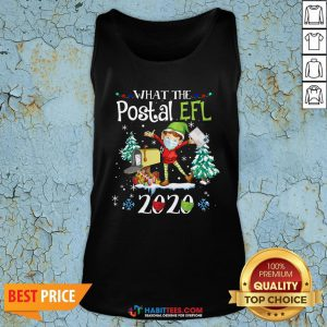 Hot What The Postal Worker Christmas Elf 2020 Tank Top - Design By Habittees.com