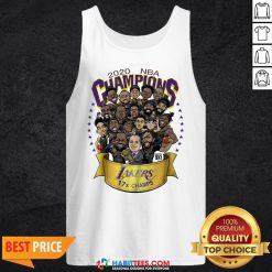 Nice 2020 NBA Champions Lanker 17 Champs Los Angeles Tank Top