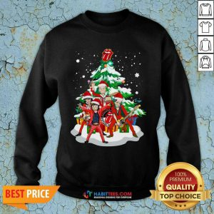 Nice Anta The Rolling Stones Playing Music Merry Christmas 2020 Sweatshirt