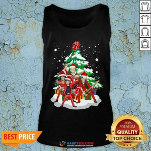 Nice Anta The Rolling Stones Playing Music Merry Christmas 2020 Tank Top