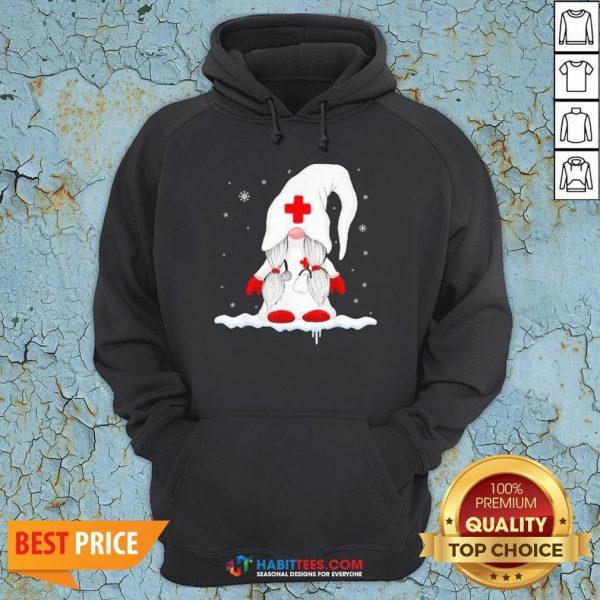 Nice Dwarf Medical White Snow Christmas Hoodie