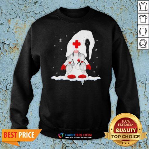 Nice Dwarf Medical White Snow Christmas Sweatshirt