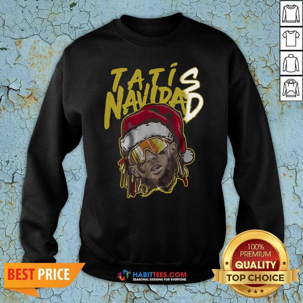 Offical Tatis Navidad San Diego Sweatshirt