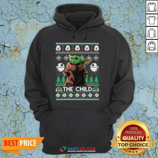 Official 2020 The Child Baby Yoda Ugly Christmas Hoodie