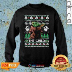 Official 2020 The Child Baby Yoda Ugly Christmas Sweatshirt