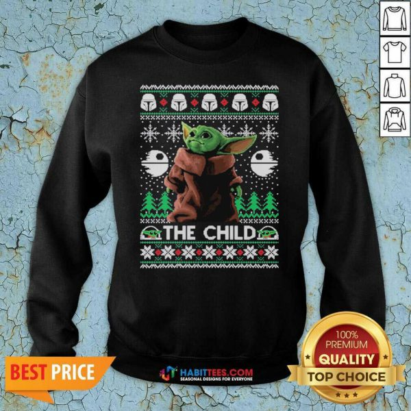 Official 2020 The Child Baby Yoda Ugly Christmas Sweatshirt