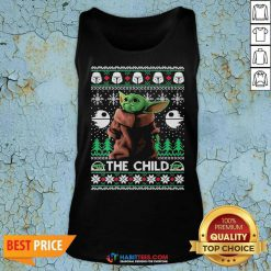 Official 2020 The Child Baby Yoda Ugly Christmas Tank Top