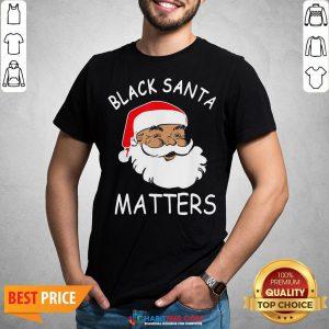 Official African American Santa Black Matters Christmas Shirt
