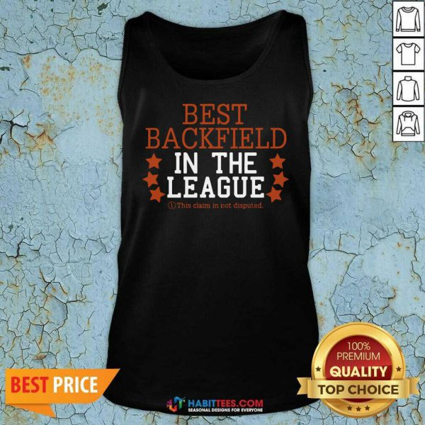 Official Best Backfield In The League Tank Top