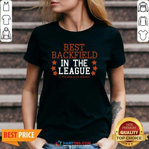 Official Best Backfield In The League V-neck