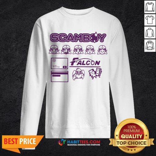 - Design By Habittees.comOfficial Guapdad4000 Merch Falcon Sweatshirt
