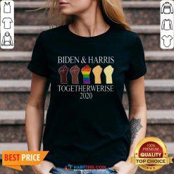Official Joe Biden Kamala Harris 2020 V-neck - Design By Habittees.com