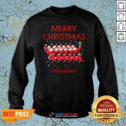 Official Merry Christmas Linedance Santa Claus Sweatshirt
