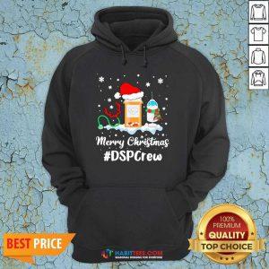 Official Nurse Santa Vaccine Merry Christmas #Dsp Crew Hoodie