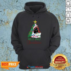 Official Shark Holly Jawly Christmas Hoodie - Design By Habittees.com