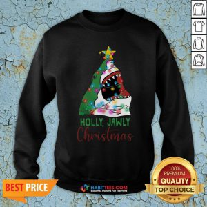 Official Shark Holly Jawly Christmas Sweatshirt - Design By Habittees.com