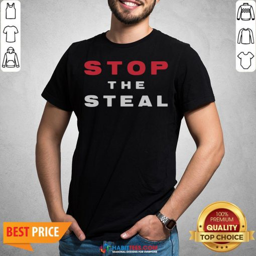 Official Stop The Steal Election Shirt