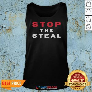 Official Stop The Steal Election Tank Top