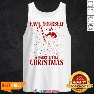 Perfect Have Yourself A Harry Little Christmas Tank Top - Design By Habittees.com