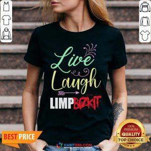 Perfect Live Laugh Limp Bizkit V-neck - Design By Habittees.com