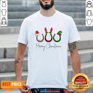 Perfect Santa Reindeer Horse Merry Christmas Sweater Shirt - Design By Habittees.com