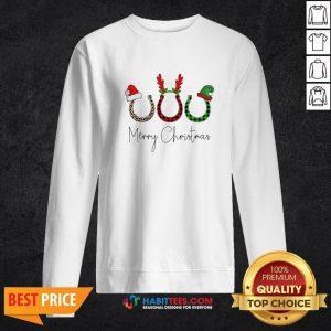 Perfect Santa Reindeer Horse Merry Christmas Sweater Sweatshirt - Design By Habittees.com
