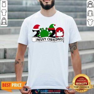 Premium 2020 Virus Corona Merry Christmas Shirt