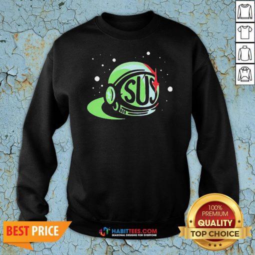 Premium Achievement Hunter Sus Logo Sweatshirt
