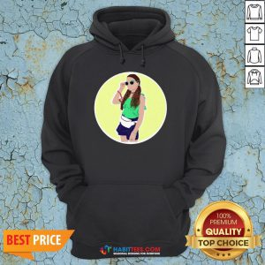 Premium Hayley LeBlanc Cartoon Circle Hoodie