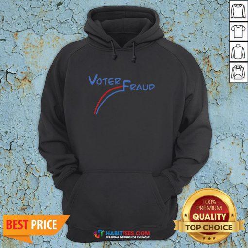 Premium Joe Biden Voter Fraud Hoodie - Design By Habittees.com