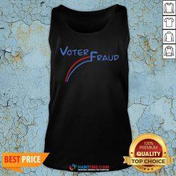 Premium Joe Biden Voter Fraud Tank Top - Design By Habittees.com